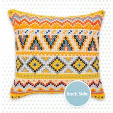 Набор для вышивания подушки Орнаменты 2,  Luca-S