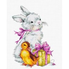 Набор для вышивания Пасхальная открытка, Luca-S