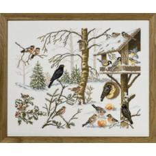 Набор для вышивания Кормушка для птиц