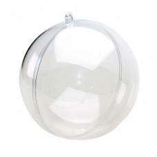 Шар пластиковый разъёмный, 12 см