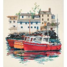 Набор для вышивания Fishin Village