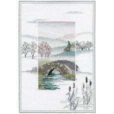 Набор для вышивания Winter Bridge