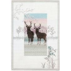 Набор для вышивания Frosty Deer
