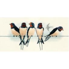 Набор для вышивания Swallows