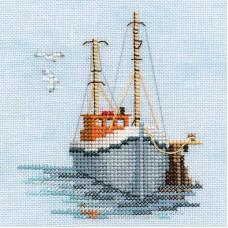 Набор для вышивания Fishing Boat