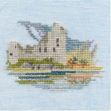 Набор для вышивания Waterside Castle