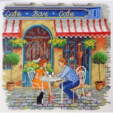 Набор для вышивания Уличное кафе