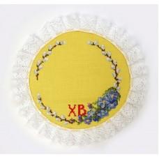 Набор для изготовления салфетки Пасхальный венок