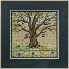 Набор для вышивания бисером Весенний дуб