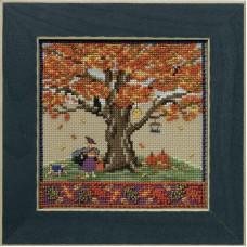 Набор для вышивания бисером Осенний дуб