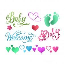 Трафарет Baby Welcome