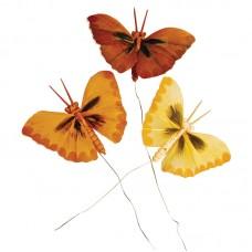Набор декоративных элементов Бабочки