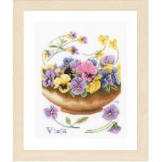 Набор для вышивания Violets