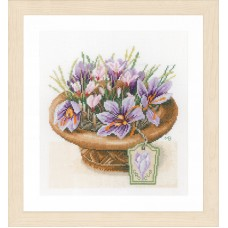 Набор для вышивания Crocus Flowers