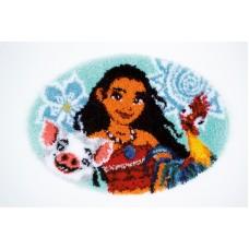 Набор для вышивания коврика Моана
