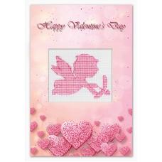 Набор для изготовления открытки Валентинка