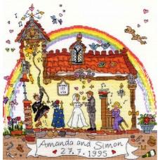 Набор для вышивания Wedding (Свадьба)