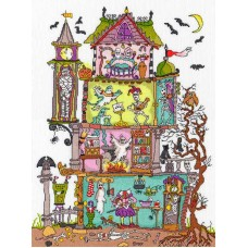 Набор для вышивания Haunted House (Дом с привидениями)