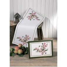 Набор для вышивания дорожки Яблоневый цвет