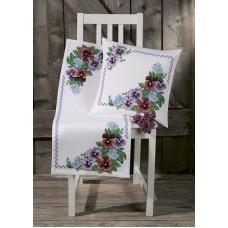 Набор для вышивания подушки Мать-и-Мачеха