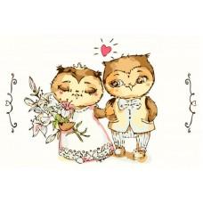 Картина по номерам Счастливый свадебный день