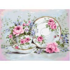 Набор для вышивания Трио и цветы