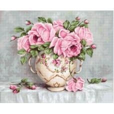 Набор для вышивания Розовые розы