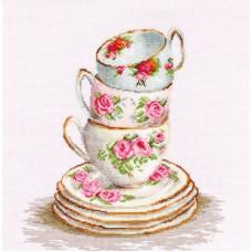 Набор для вышивания Три чайные чашки