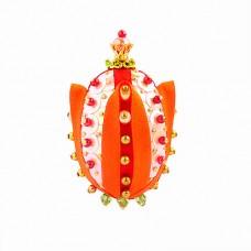 Набор для творчества декоративное яйцо Тюльпан Великолепный апельсиновый