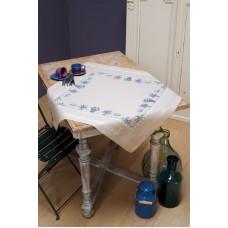 Набор для вышивания скатерти Лаванда