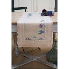 Набор для вышивания дорожки Лаванда