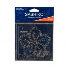 Шаблон для вышивки сашико цветок сакуры