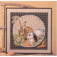 Набор для вышивания Кролики