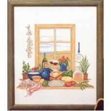 Набор для вышивания Кухонное окно