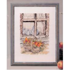 Набор для вышивания Окно с фруктами