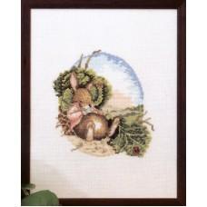 Набор для вышивания Сытый кролик
