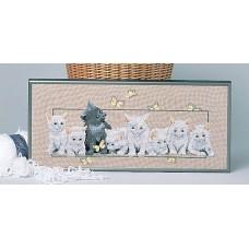 Набор для вышивания Котята