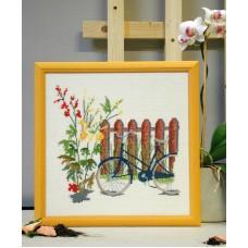 Набор для вышивания Велосипед