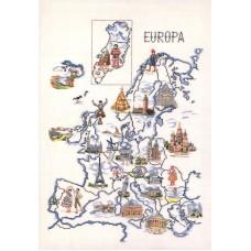 Набор для вышивания Европа