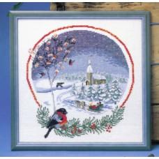 Набор для вышивания Снегири