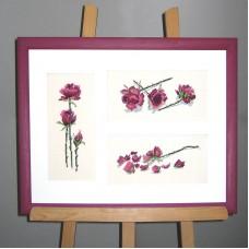 Набор для вышивания Три розы