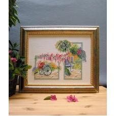 Набор для вышивания Цветущий сад