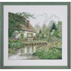Набор для вышивания Дом у озера