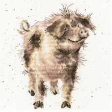 Набор для вышивания Truffles and Trotters (Трюфели и свиные ножки)