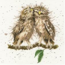 Набор для вышивания Birds of a feather (Птицы одного полёта)