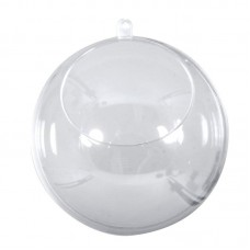 Шар пластиковый разъёмный с отверстием, 10  см