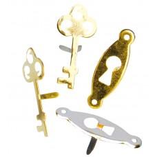 Набор брадс Ключи и замочные скважины