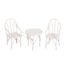 Садовая миниатюра Стол и стулья