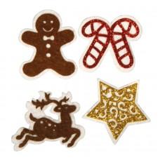 Набор декоративных наклеек Рождество