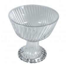 Стеклянная чаша на ножке